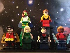 Young Justice (David$19) Tags: lego legodc dc youngjustice robin missmartian artemis superboy wallywest aqualad