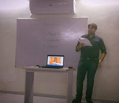 Motivation lecture to team