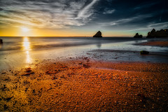 Dreamy sunrise (martintimmann) Tags: water loxia2821 zeiss romance e longexposure sunrise landschaft