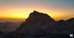 Rjavina Silhouette (Ivica Pavičić) Tags: rjavina dawn julian alps