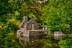 The Monk's Fishing House, River Cong, Co Mayo (Eileen (EMC)) Tags: eire ireland irlandi irlande mayo nikon d3100 trees water waterscape cong themonksfishinghouse rivercong reflections thewildatlanticway