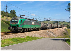 Llanera 11-08-17 (P.Soares) Tags: bitrac 3600 espanha spain locomotiva carga comsa comboio terminalintermodal tren train portugalferroviário lusocarris