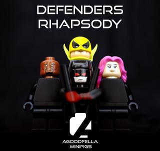 Defenders Rhapsody 👿👊⛓���👩 [MARVEL] [COMICS]