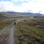 Hiking a track up the Coir' a' Mhadaidh thumbnail