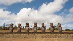 CHILE - Rapa Nui (Asier Villafranca) Tags: moai ahu akivi rapa nui easter island