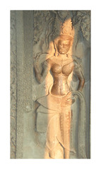 Magical Places and Things - The Mekong (11) (The Spirit of the World) Tags: angkorwat wat temple angkor khmer wall apsara spirit dancer singer mythology hindu buddhism cambodia southeastasia asia indochina relief walls templewalls sunlight lateafternoon