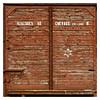 Wagon de déportation : Détail de la porte (Pascal.M (bong.13)) Tags: campdinternement aix provence milles wagon déportation bouchesdurhone sonyrx100 france porte