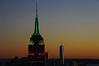 Empire State Building and One World Trade Center - South view from Top of the Rock Observation Deck, NYC (SomePhotosTakenByMe) Tags: skyline sunset sonnenuntergang empirestatebuilding esb wtc 1wtc oneworldtradecenter worldtradecenter panorama 30rock rockefellercenter wolkenkratzer skyscraper gebäude building architektur architecture comcastbuilding topoftherock observationdeck aussichtsplattform urlaub vacation holiday usa unitedstates america amerika nyc newyorkcity newyork stadt city manhattan innenstadt uptown downtown midtown columbusday dämmerung dawn