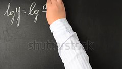 Mathematical analysis, logarithming. We write with chalk on a board. (daria.boteva) Tags: algebra algorithm background board calculation chalk complex copybook drawing education equal equation figure formula function geometry graph graphic grid handwriting handwritten integral knowledge lg logarithm math mathematical mathematics minus multiplication number pattern physics plot plus proof research school science solution sum symbol technical texture theorem trigonometry university