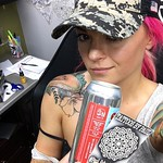 #Repost @craftybeermaven ・・・ If you're in the Fort Lauderdale area you have to come see @paul_schnellmynuts - let's just say he's easily worth the 20 hour RT drive. Finishing up my tattoos before the big day coming up. Sipping on @theveilbrewing Step Step thumbnail