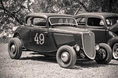 The Bronx Kid (maberto) Tags: california carshow chevorlet chevy d7200 ford nikon suttercreek custom hotrod ©bradmaberto blackandwhite bw