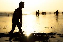 Beach Shadows (Juaberna) Tags: d300 sombras siluetas reflejos reflexions shadows beach playa