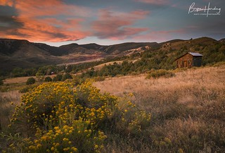 Sunrise over Hall Ranch - Boulder County, Colorado