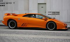 "Lamborghini, Diablo ""SE30"", Hong Kong International Airport, Hong Kong (Daryl Chapman Photography) Tags: fn2183 lamborghini diablo hkia clk hongkonginternationalairport cheklapkok smd se30 79"