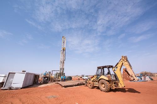 Deep borehole drilling, Gashamo woreda, Somali region