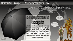 Umbrella Corporation International (Wasfi Akab) Tags: painter akab wasfi iraq iraqi middle middleast east art artist artistic geotagged europe italia italy florence color black white stand standing street tuscan tuscany firenze toscana artista strada exile flash animation breaking news balls tv satirical umbrella corporation resident evil videogame zombie wileecoyote looneytoons drone cia fbi nsa usa commercial sponser acme