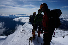 _DSC3130 (farix.) Tags: alpen alps alpy schweiz switzerland szwajcaria trekking treking grat grań piz palu bernina berninagruppe gletscher lodowiec śnieg snow schnee