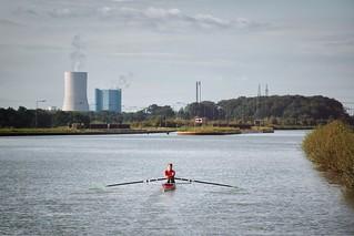 Ruderin Dortmund-Ems-Kanal