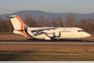 BAe 146 -200 JOTA AVIATION G-SMLA E2047 Mulhouse décembre 2015