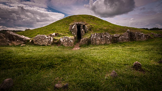 The Mound in the dark grove ....Bryn Celli Ddu. Anglesey