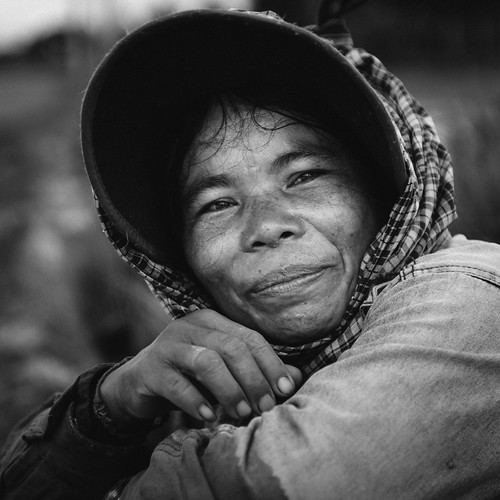 The woman from the rice field