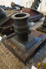 Upright mortar (quinet) Tags: 2017 antik copenhagen kanone mörtel royaldanisharsenalmuseum ancien antique canon canone mortar mortier museum zealand denmark