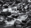 Rocky cascade (Tim Ravenscroft) Tags: river waterfall rocks whitemountains newhampshire monochrome blackandwhite blackwhite hasselblad hasselbladx1d x1d