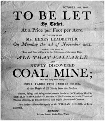 Ince coal lease, Wigan 1805 (Pitheadgear) Tags: wigan gidlow coal mine mining geology lancashire coalmining colliery collieries prospecting ince