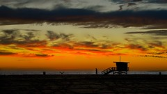 Back Home (Marie.L.Manzor) Tags: california malibu sea sunset beach ocean sky clouds silhouette mood us nikon d610 marielmanzor colors
