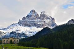 Le Tre Cime di Lavaredo (luca2142) Tags: italia italy veneto misurina trecimedilavaredo dreizinnen alpi alps dolomiti dolomiten dolomites neve fresh snow
