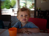 Sérieux (Dahrth) Tags: panasoniclumixgf1 gf120 lumix20mm micro43 microquatretiers microfourthirds cute beautiful boy portrait kid bokeh blond enfant garçon child vertbaudet cyrillus model mannequin bonpoint