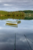 Leading lines (buddsnax) Tags: lochrusky scotland fishing boats fishingboats sunrise uk leadinglines reflections tranquil calm