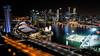 Marina Bay (dgarcia_) Tags: singapur singapore marina bay gardens by leds lights city sky scratcher rascacielos laser flower dome helix bridge noche night long exposure larga exposicion