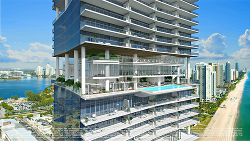 Turnberry Ocean Club-Sunny Isles Beach-Skyclub Amenities East