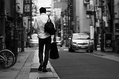 街 (fumi*23) Tags: ilce6000 sony 85mm fe85mmf18 sel85f18 alley street blackandwhite bw monochrome emount emountlens city snap