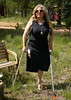 amp-1453 (vsmrn) Tags: amputee woman onelegged crutches