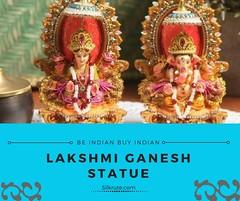 Buy Lakshmi Ganesh Idols Online for Diwali - Silkrute.com (Silkrute) Tags: idols shopping gifts online statue