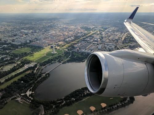 Departing DCA