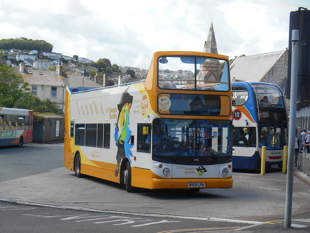 Stagecoach South West 'Swash Buckle' 18186 (Welsh Bus 18) Tags: stagecoach