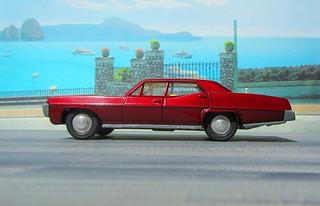 Dinky Toys Pontiac Parisienne No. 173 1969 : Diorama PS2 GT4 Computer Game Backdrop Costa di Amalfi - 14 Of 16