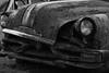 Forgotten Relic (John Neziol) Tags: jrneziolphotography nikon nikoncamera nikondslr nikond80 outdoor odd old monochrome lowkey rusty relic abandoned pontiac closeup car