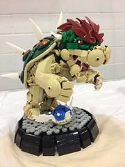Brickfair VA 2017 (Kreativ Snail) Tags: lego brickfair virginia 2017 mario nintendo bowser sculpture