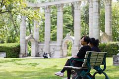 Guild Park (dtstuff9) Tags: toronto ontario canada scarborough guildwood guild inn park bench grass greek stage gardens theatre