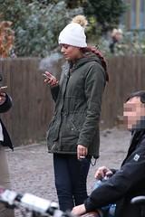 exhale (if you insist) Tags: smoking smoker exhale eurosmoke candid cigarette addict breath female nicotine
