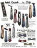 1954 Artist Originals by Cutter (Tom Simpson) Tags: 1954 1950s vintage ad ads advertising advertisement vintagead vintageads fashion 1950sfashion cutter tie ties neckwear menswear
