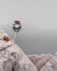 Hanging (jellyfire) Tags: distagont3518 fishguard landscape landscapephotography leebigstopper longexposure nd ndfilter sony sonya7r ze zeissdistagont18mmf35ze bigstopper boat leeacaster pembrokeshire rope steps summer wales wwwleeacastercom zeiss
