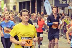 Marathon Runners 87, Simplyhealth Great Bristol Half Marathon (Jacek Wojnarowski Photography) Tags: autumn blurbackground bokeh bristol city citylife depthoffield england europe fall halfmarathon marathon outdoor people selectivefocus simplyhealthgreatbristol splittone splittoning sport uk urbanscene