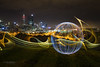Ball of Light - Kings Park (Astronomy*Domine) Tags: theballoflight orb kingspark perth westernaustralia lightpainting longexposure night cityscape canon 6d tamron 2470