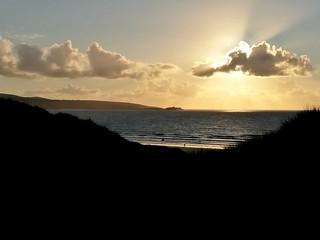 St Ives Bay sunset