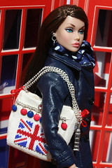 Poppy (Isabelle from Paris) Tags: popster poppy parker hand made doll purse tote bag miniature